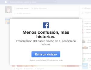 cambios facebook 2